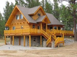 Custom Log Homes by JR Troyer