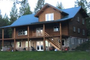 Idaho Custom Log Home Builder